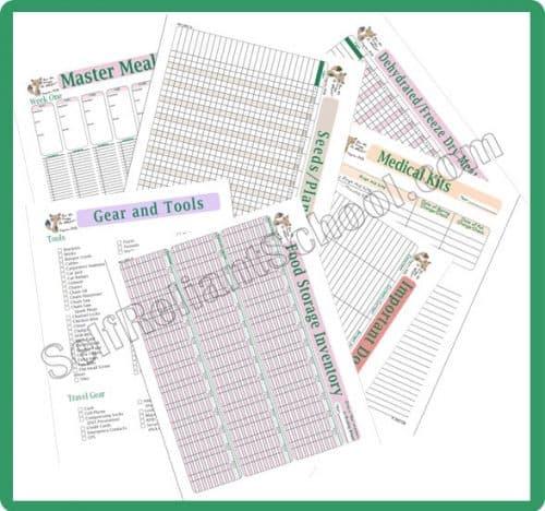The Preparedness Planner at Self-Reliant School | PreparednessMama
