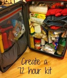 Create your 72 hour kit | PreparednessMama