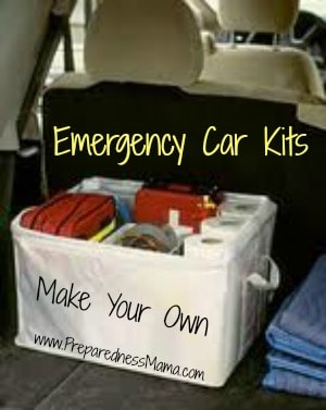 Make Your Own Emergency Car Kits | PreparednessMama
