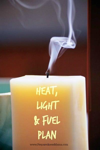 Emergency Light, Heat & Fuel Plan