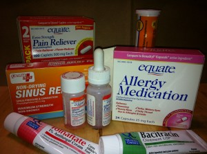 Essential Medications for the home medicine cabinet