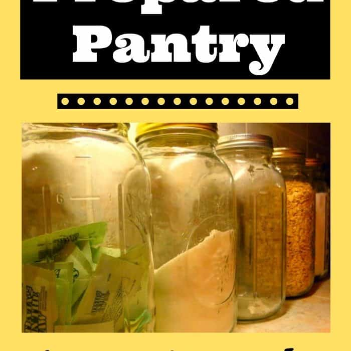 The Prepared Pantry: 3 Month Food Supply