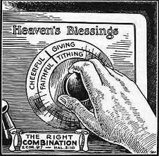 Tithing opens the windows of Heaven