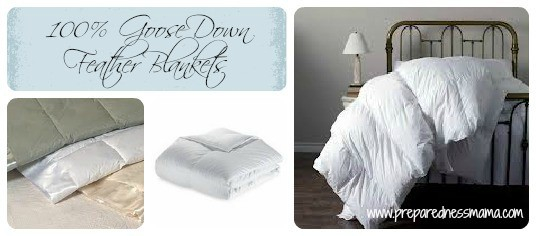 100% Goose Down Blankets