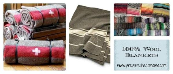 100% Wool Blankets