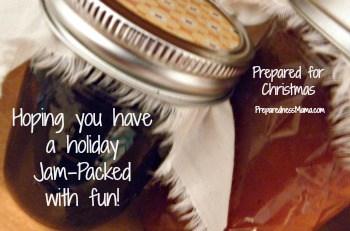 Prepared for Christmas - Jars of Jam