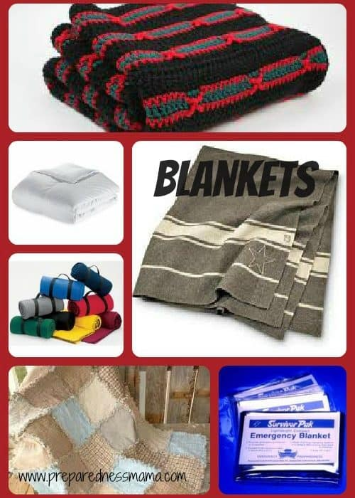 Prepared for Christmas: Blankets