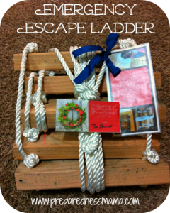 DIY emergency escape ladder | PreparednessMama