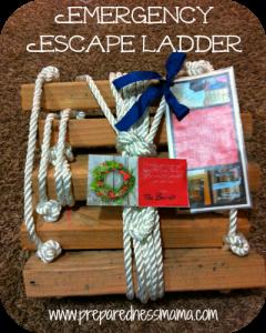 DIY fire escape ladder | PreparednessMama