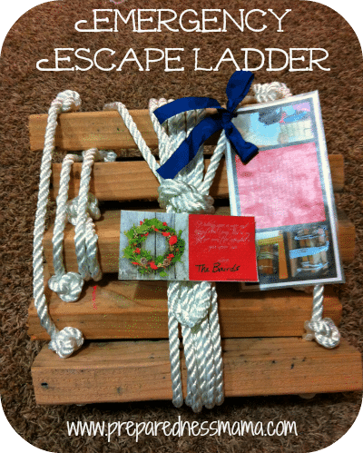 DIY Fire Escape Ladder