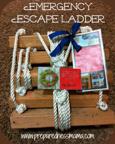 Prepared for Christmas: Emergency Escape Ladder