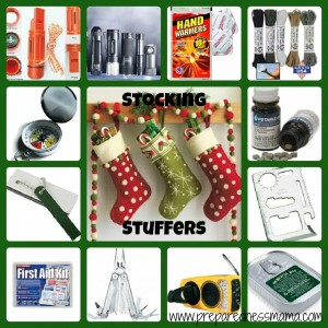 Preparedness Stocking Stuffer Ideas | PreparednessMama
