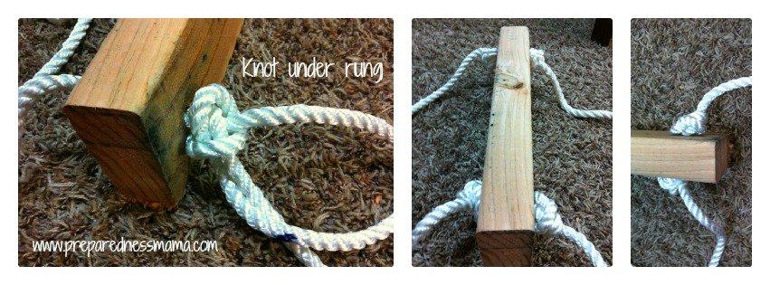 under rung knots