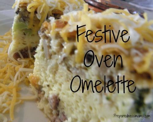 Festive Oven Omelette