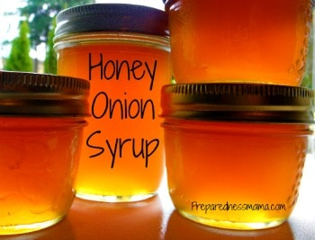 Honey Onion Syrup