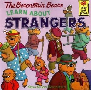 berenstein bears learn about strangers