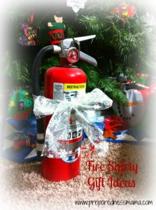 Prepared for Christmas: Fire Safety Gifts - Preparedness Mama