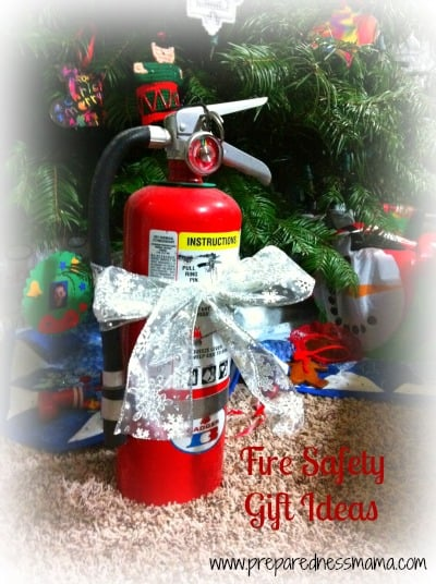 Prepared for Christmas: Fire Safety Gifts
