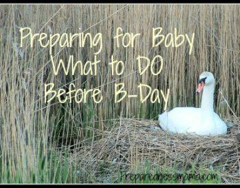Prepare for Baby