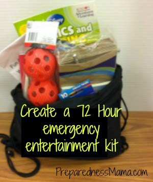 emergency entertainment kit