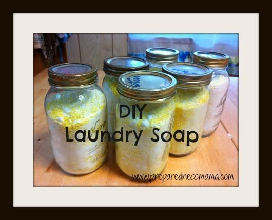 DIY Laundry Soap | PreparednessMama