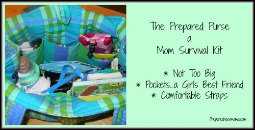 The Prepared Purse – A Mom Survival Kit