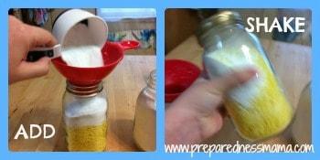 DIY Laundry Soap Step 4-6 | PreparednessMama