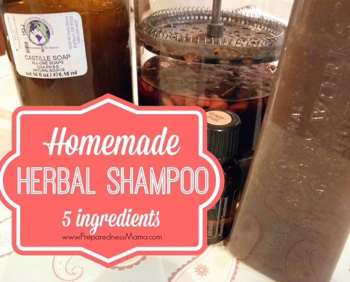 Make Your Own Homemade Shampoo