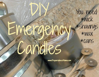 DIY Emergency candles from items you have around the house | PreparednessMama