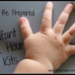 Iinfant 72 hour kit | PreparednessMama