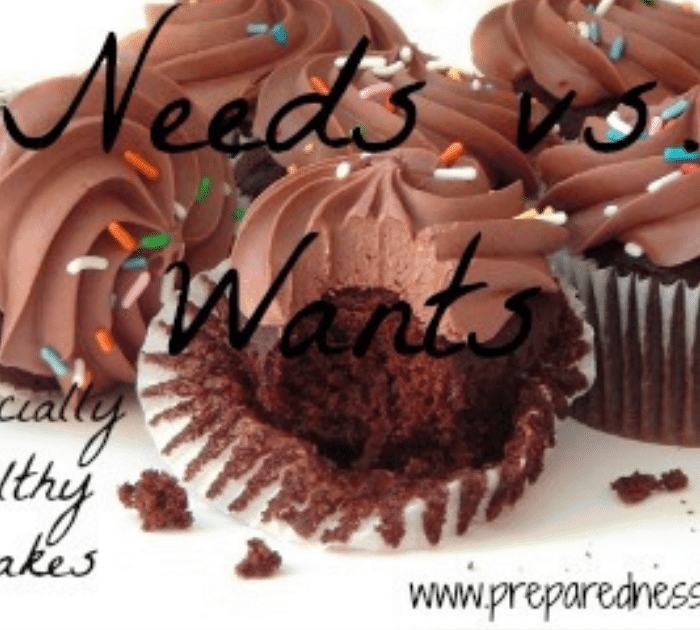 Needs vs. Wants: Financially Healthy Cupcakes