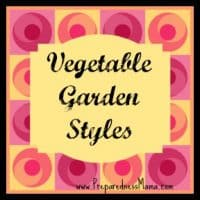Vegetable garden styles - Get links to all the posts at | PreparednessMama