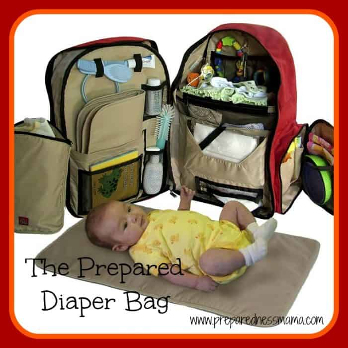 The Prepared Diaper Bag