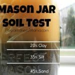Mason Jar Soil Test