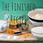 The Finished Recipe