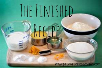 The Finished Recipe: Creating a Budget