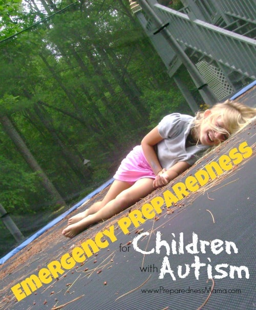 You can be prepared. emergency preparedness for children with autism | PreparednessMama