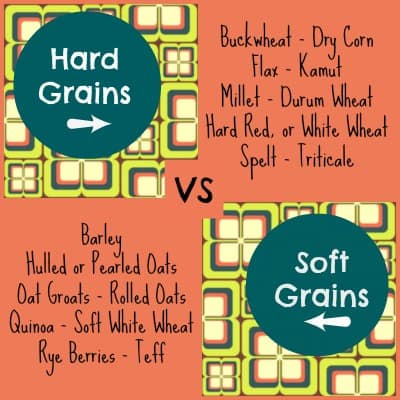 hard vs soft grains