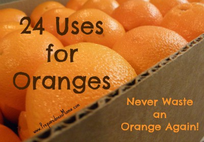 What can you do with 20 lbs of oranges? 24 Uses for Oranges - Never Waste an Orange Again | PreparednessMama