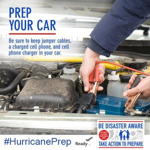 While it's best to always be ready, you should at least prep your car while you are in watch mode | PreparednessMama