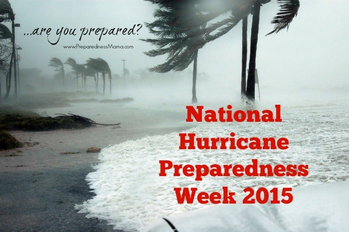It's National Hurricane Preparedness Week. Are you prepared? | PreparednessMama