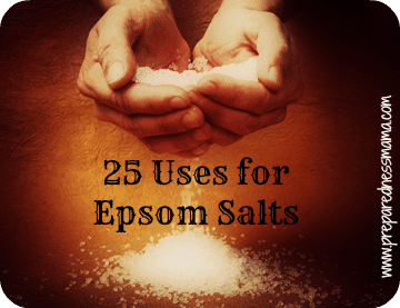 25 Uses For Epsom Salts Preparednessmama