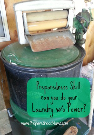 washing laundry without electricity