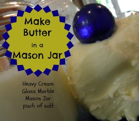 Learn to make butter in a jar | PreparednessMama