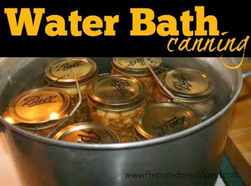 Water Bath Canning is fairly easy once you know the process. Find out how | PreparednessMama