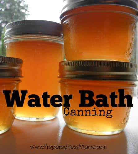 Water bath canning ststructions. It's easier than you think | PreparednessMama