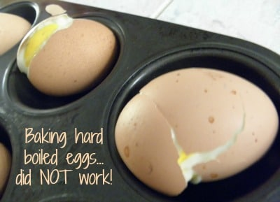 I tried baking eggs, which was a huge mistake | PreparednessMama