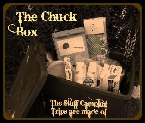 The Chuck Box, a camper's friend | PreparednessMama