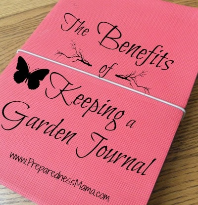Benefits of a garden journal