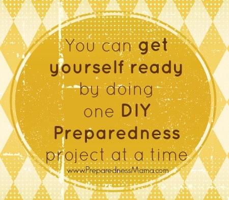 DIY Preparedness | PreparednessMama